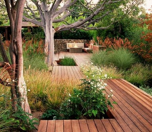 holzterrasse verlegen - coole idee für ihren außenbereich, Garten und Bauen