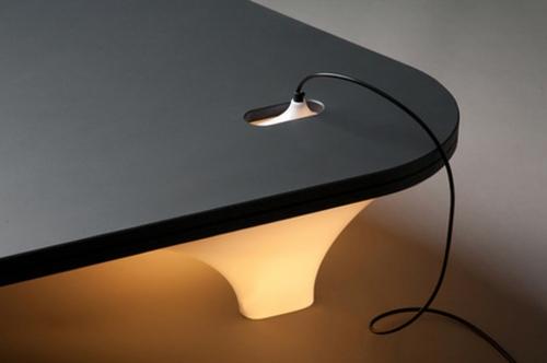 innovative praktische tisch lampe design industriell leitung
