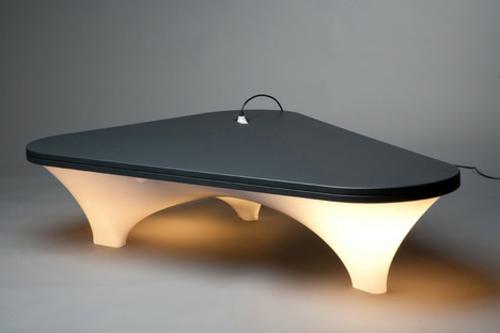 innovative praktische tisch lampe design industriell tischplatte