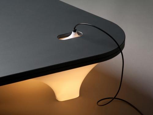 innovative praktische tisch lampe design steckdoe leiter