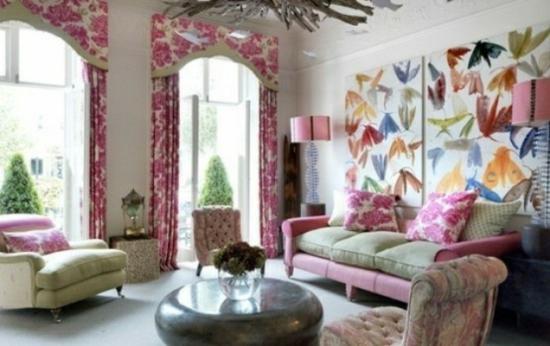 interior design home ideen femenin wohnzimmer frisch