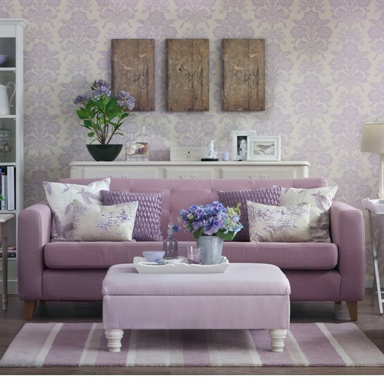 wohnzimmer pastell:Lavender Living Room Decorating Ideas
