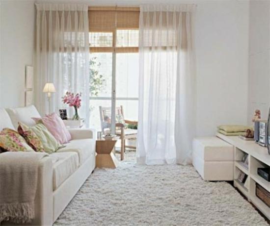 wohnzimmer ideen pink:Interior Design Ideen – 50 luftige feminine Wohnzimmer Designs