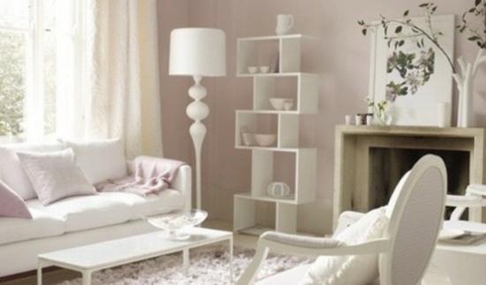 Interior Design Ideen – 50 luftige feminine Wohnzimmer Designs