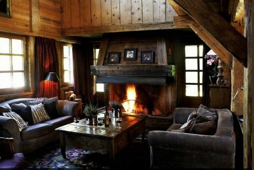 Offene Feuerstelle Wohnzimmer : 60 Einrichtungsideen, Dekorationen ...