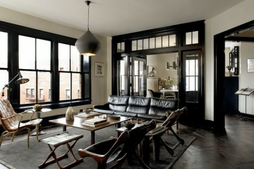 23 Interior Design Ideen für Männer – männlicher Charakter und ...