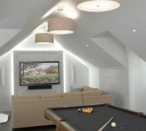 Interior Design Ideen – 60 Spielraum Designs für Männer