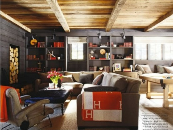 interior design ideen 60 spielraum designs f r m nner. Black Bedroom Furniture Sets. Home Design Ideas