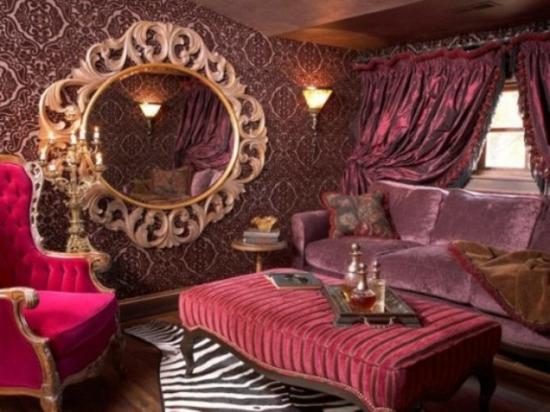 wohnzimmer ideen pink:Interior Design Ideen – 50 luftige feminine Wohnzimmer Designs ~ wohnzimmer ideen pink