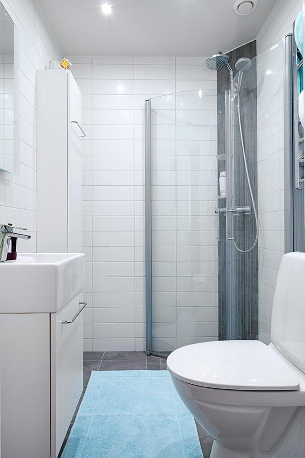 interior design kleines apartment in schweden im trendigen stil. Black Bedroom Furniture Sets. Home Design Ideas