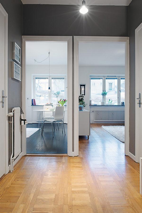 home design wohnung apartment schweden flur