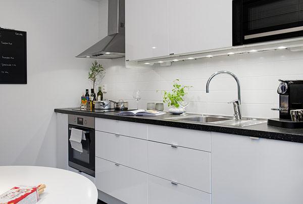 interior design wohnung apartment schweden küche arbeitsplatte