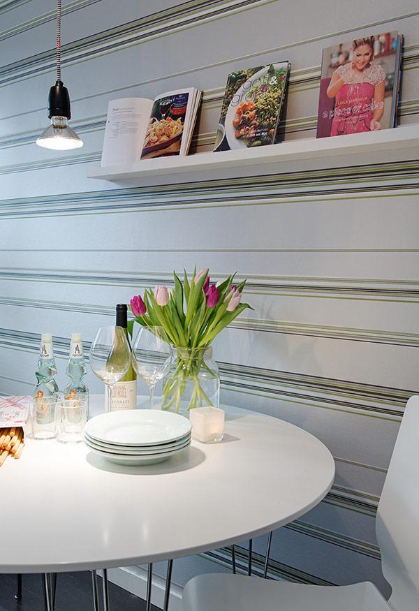Interior design kleines apartment in schweden im for Design wohnung klein