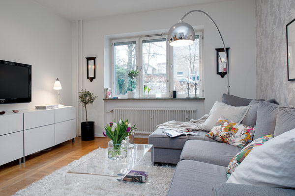 Interior Design - kleines Apartment in Schweden im ...