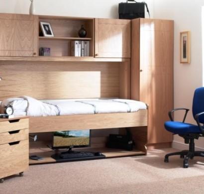 jugendzimmer m bel platzsparendes bett und schreibtisch in einem. Black Bedroom Furniture Sets. Home Design Ideas