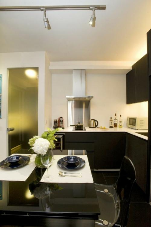 küche arbeitsplatte essbereich modern elegant behaglich
