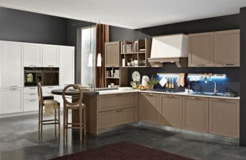 kücheneinrichtung ideen stosa maxim küche halbinsel stehstühle