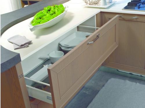kücheneinrichtung ideen stosa maxim küche schublade arbeitsplatte