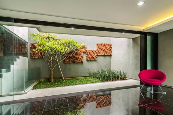 Förmiges haus design lumber von atelier riri moderne architektur