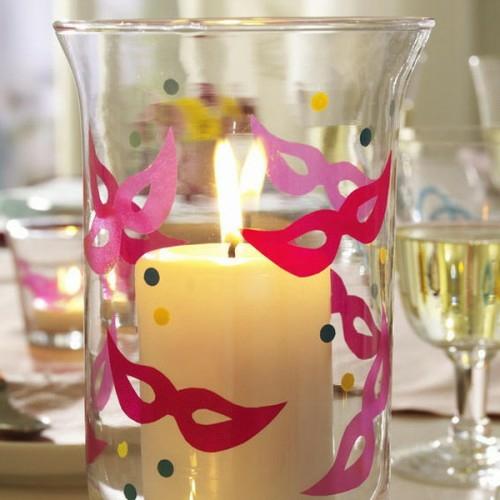 diy deko ideen sommer : Nette Kerzen Ideen Sommer Deko Glas Deko Stein ...