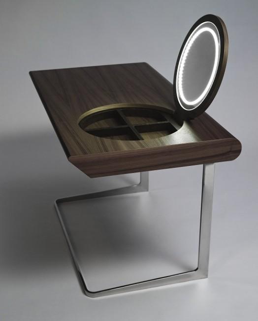 Ikea Unterschrank Mit Vollauszug ~ kinderzimmer einrichtung  schminktisch mit spiegel und licht