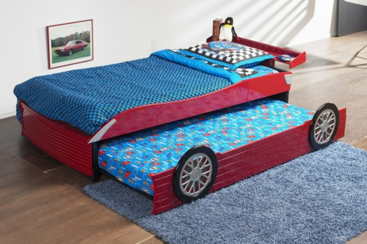 Double Size Race Car Bed