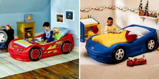 Kinderbett junge  Kinderzimmer gestalten - 20 Kinderbetten für Jungs, wie Autos geformt