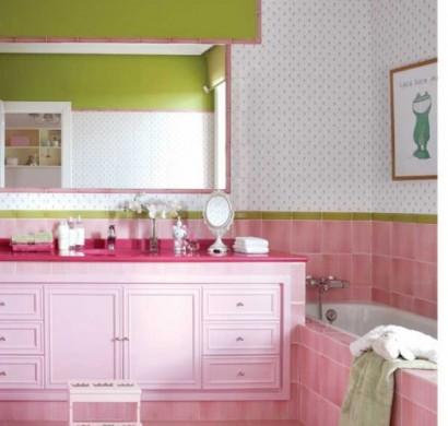 Kinderzimmer ideen   niedliches dekor in rosa und weiß für mädchen