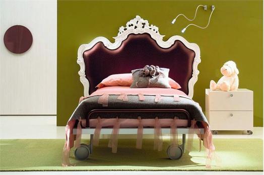 kinderzimmer möbel di liddo perego mädchen schlafzimmer bett luxus