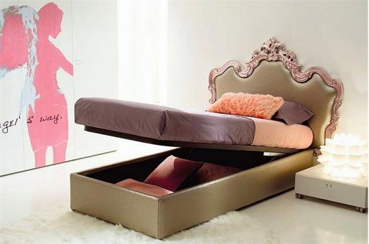 Kinderzimmer Möbel Di Liddo Perego Mädchen Schlafzimmer Rosa Kissen