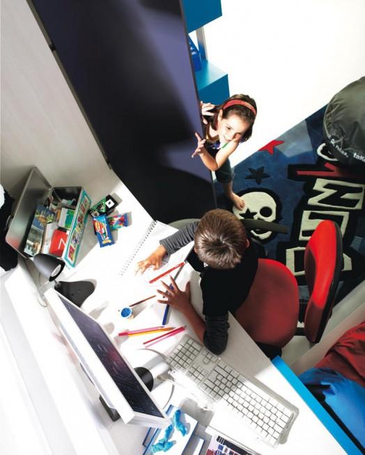 kinderzimmer möbel kibuc lernen schreibtisch fenster