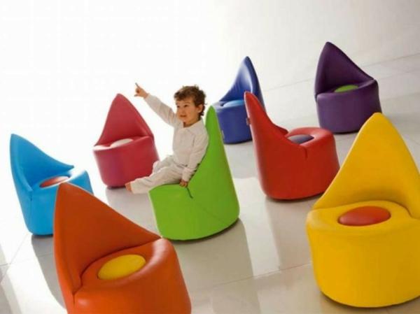 komfortabler kinder stuhl bunt ergonomisch design