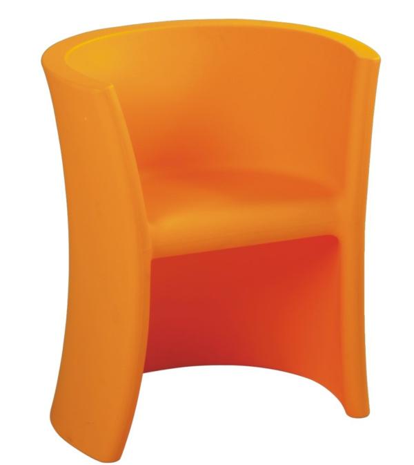 komfortabler kinder stuhl orange ergonomisch bequem