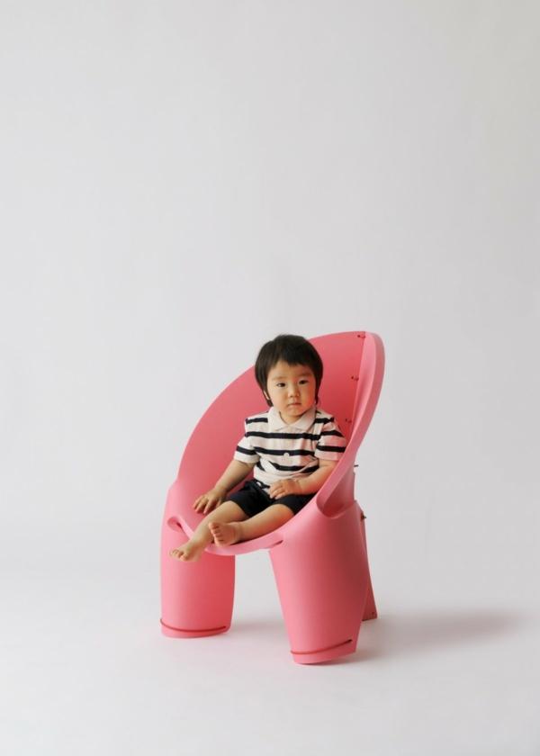 bequemer kinderstuhl rosa ergonomisch design eva