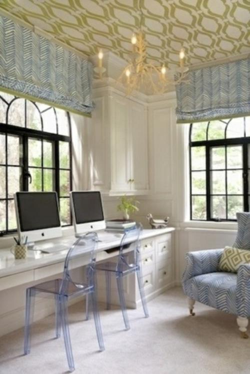 mädchenhaft büro haus acryl stuhl apple computer zwei personen