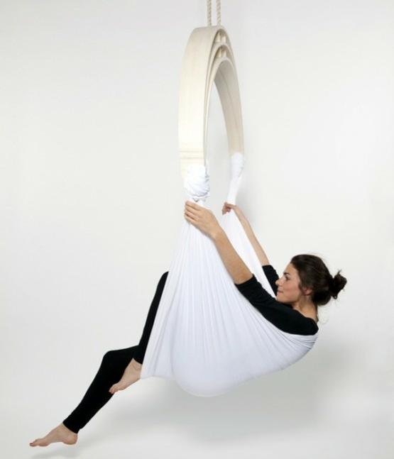 Cooles und praktisches m bel design zen circus yoga chair for Innenarchitektur yoga