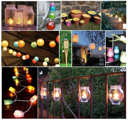 Moderne coole Garten Deko Ideen - Die Party geht weiter
