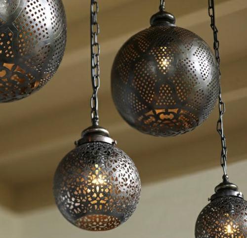moderne coole garten deko idee hängen exotische dekoration