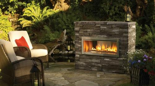 moderne feuerstelle im garten – siteminsk, Gartengestaltung