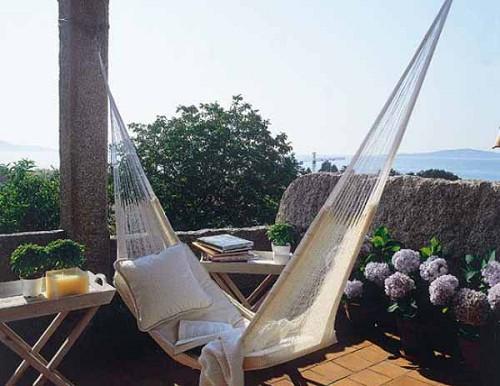 Moderne dachterrasse gestalten designer ideen als - Hamacas para terraza ...