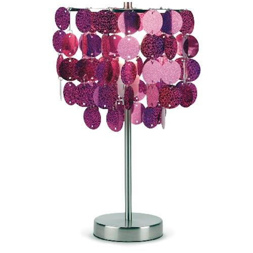 moderne nachttisch lampen metall pink three cheers