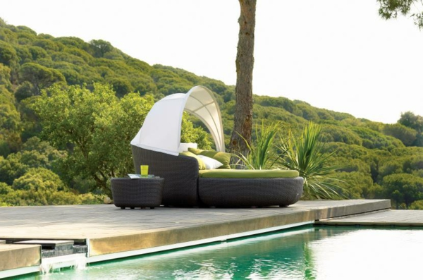 moderne outdoor m bel von gloster die modulare eclipse. Black Bedroom Furniture Sets. Home Design Ideas