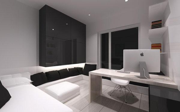 Moderne luxus arbeitszimmer  Modernes Arbeitszimmer | loopele.com