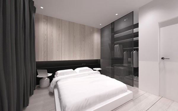 ... Zeitgenössische Architektur farbgestaltung wohnzimmer dunkle möbel
