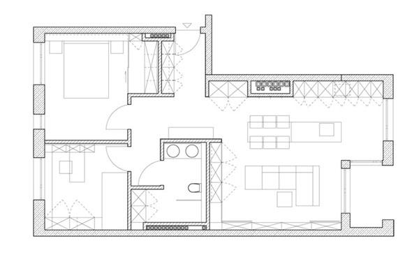 Moderne Zeitgenossische Architektur Skandinavisch Bauplan