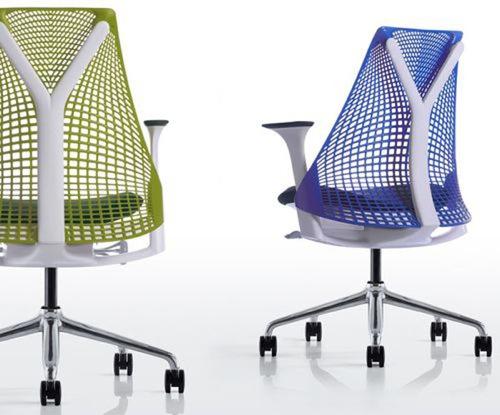 Moderner cooler schreibtisch sessel design es ist zeit for Design stuhl gitter