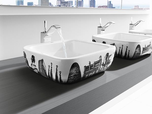 modernes design waschbecken weltstadt inspiration metropole