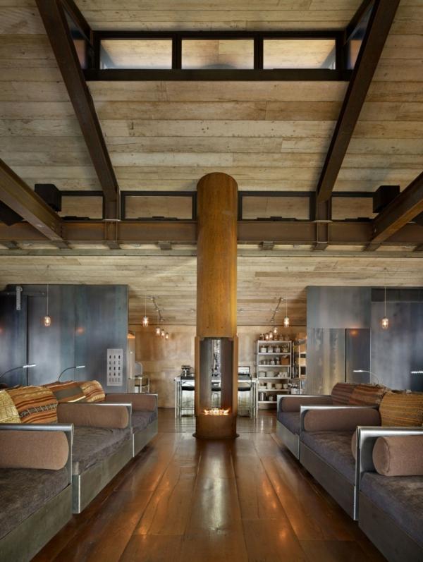Interieur Mit Holz Lamellen Haus Design Bilder Interieur Mit Holz ...