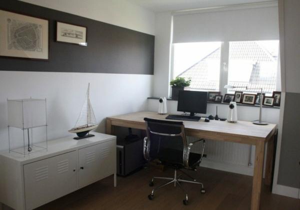 modernes herrliches haus design home office arbeitstisch