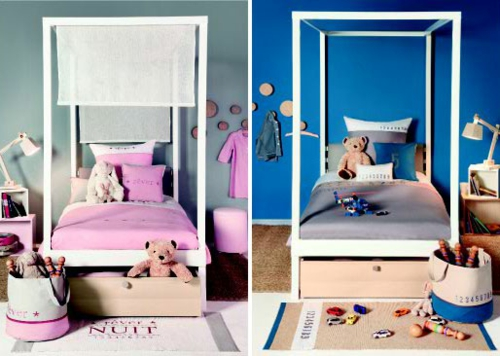neues modernes kinderzimmer von vibel verspielte coole designs. Black Bedroom Furniture Sets. Home Design Ideas